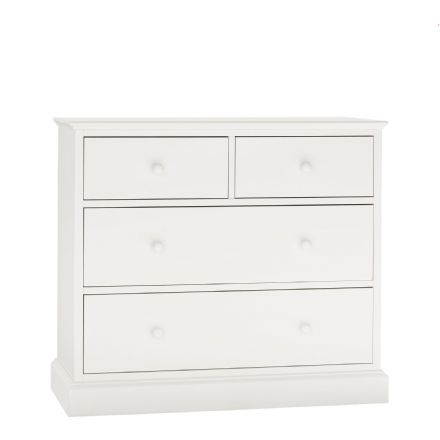 Ashby White Painted 2+2 Chest of Drawers